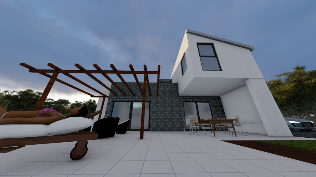 3D outside view / 3D visualization