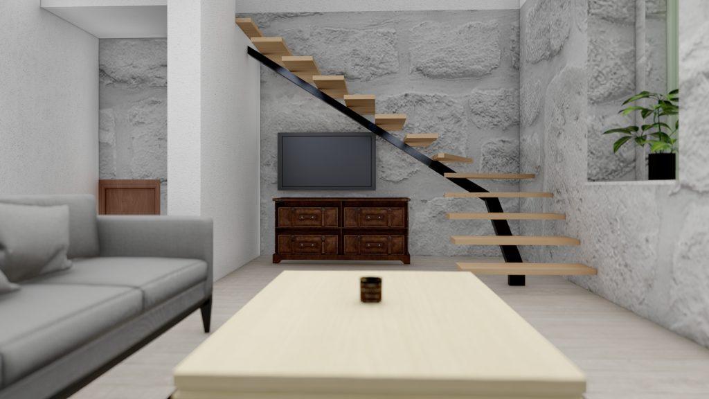 3d vizualizacija inerijera rijeka - interior 3d visualisation